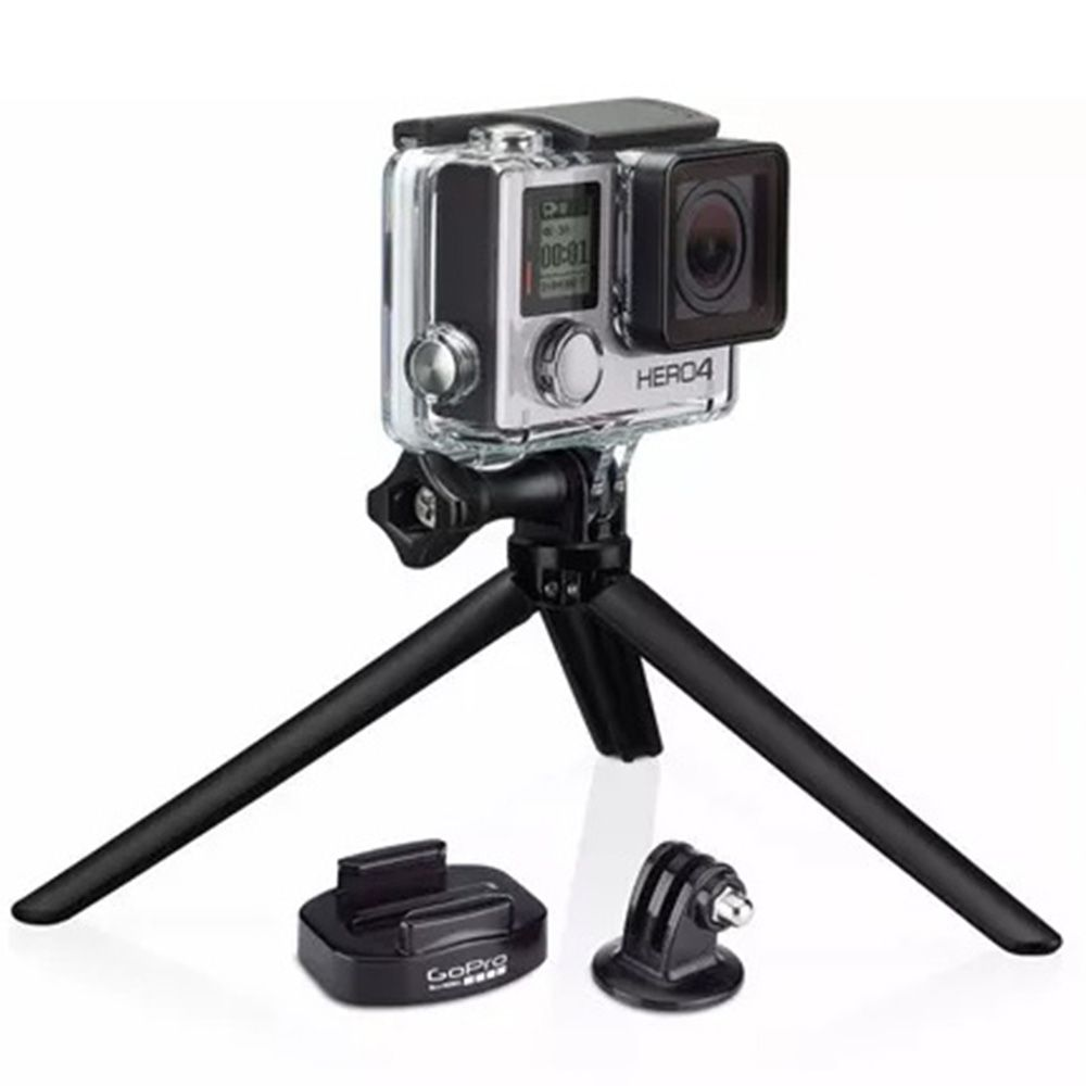 Suporte para Tripé 3 Way GoPro Tripod Mounts Incluso 3-Way Tripod