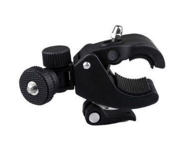 Suporte Tubular para Câmera de Ação Quanta QTSCA610 com Abertura de 3 a 5 cm - Preto