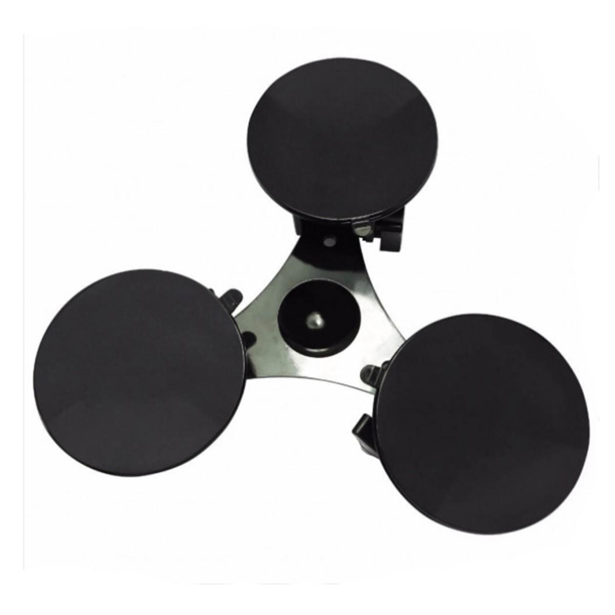 Suporte Ventosa Tripla para GoPro e Câmeras de ação