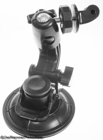 Ventosa Para  Cameras GoPro e Similares com Diâmetro de 9cm