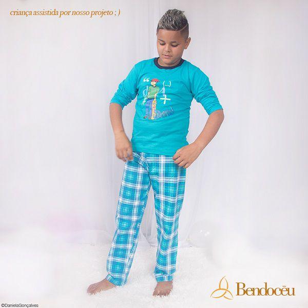 Pijama Daniel - Modelo Jovem -  inverno