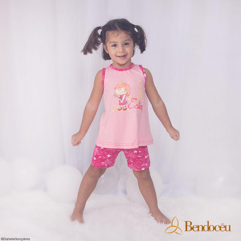Pijama Ester - Estrela Baby - verão