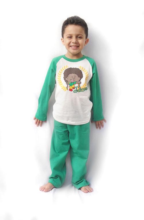 Pijama José - Modelo bebê - inverno