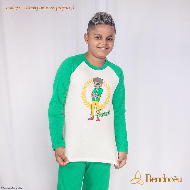 Pijama José - Modelo jovem - inverno