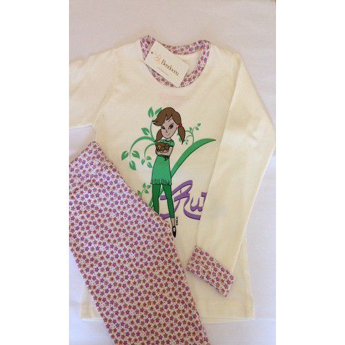 Pijama Rute - Modelo jovem - inverno  - Bençãos do Céu