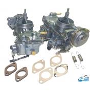 Carburador Duplo Kombi Brasilia Fusca 1600 Gasolina  Recondicionado