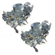 Carburador Duplo Kombi Brasilia Fusca 1600 Gasolina Solex 32/34 PDSI - Recondicionado