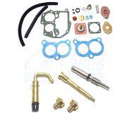Jogo Juntas + Kit Gicles Carburador Solex 2E Escort Del Rey Pampa 1.8 2.0 Álcool ou Gasolina