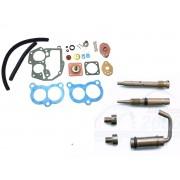 Jogo Juntas + Kit Gicles Carburador Solex 3E GM VW Ford Álcool ou Gasolina