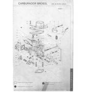 Kit Embuchamento Borboleta Eixo Carburador Solex 30 PIC Fusca 1300