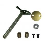 Kit Embuchamento e Borboleta Carburador Solex BLFA Monza 1.8 Escort 1.6 2º Estágio
