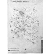 Kit Embuchamento e Eixo Carburador Solex 2E VW Ford GM 2º Corpo