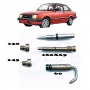 Kit Gicle Carburador Solex 2E Chevette 1.6 1992 em diante Álcool