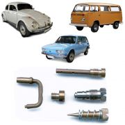 Kit Gicle Carburador Solex 30 PIC Fusca Brasilia Kombi 1300 1500 1600