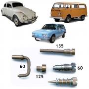 Kit Gicle Carburador Solex 30 PIC Fusca Brasilia Kombi