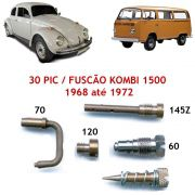 Kit Gicle Carburador Solex 30 PIC Fusca Kombi 1500 1968 até 1972