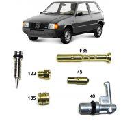 Kit Gicle Carburador Weber 190 Uno Fiorino Elba 1.3 Gasolina 1985 até 1989