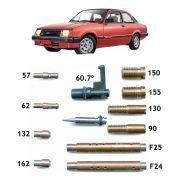 Kit Gicle Carburador Weber 460 Chevette 1.6 Álcool 1987 em diante