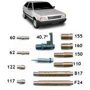 Kit Gicle Carburador Weber 460 Gol 1.6 CHT Álcool 1991 em diante