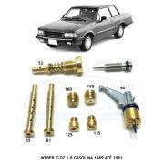 Kit Gicle Carburador Weber TLDZ Delrey 1.8 Gasolina 1989 até 1991