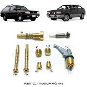 Kit Gicle Carburador Weber TLDZ Gol Voyage Parati 1.8 Gasolina Após 1991