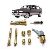 Kit Gicle Carburador Weber TLDZ Gol Voyage Parati Saveiro Santana 1.8 Gasolina 1989 até 1991