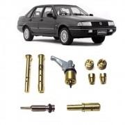 Kit Gicle Carburador Weber TLDZ Santana Quantum 1.8 Álcool 1980 em diante