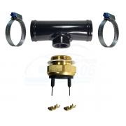 Kit Verão Radiador Cebolão Sensor Termperatura Ventoinha 86 a 76 Graus