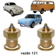 Par Agulha Boia Carburador Solex 32 PDSI Duplo Kombi Fusca Brasilia Variant 1600 1975 até 1986
