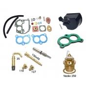 Reparo Carburador Solex 2E Santana Gol Voyage Parati 1.8 Gasolina 84 até 89