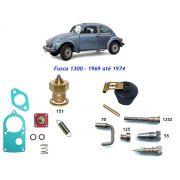 Reparo Carburador Solex 30 PIC Fusca 1300 1974 até 1983