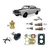 Reparo Carburador Solex 34 Seie Opala 4c Álcool 1984 até 1989