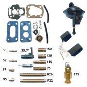 Reparo Carburador Weber 460 Gol 1.0 CHT 1991até 1992 Gasolina