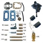 Reparo Carburador Weber 460 Gol 1.0 Escort Hobby 1.0 CHT Gasolina 1993 em diante