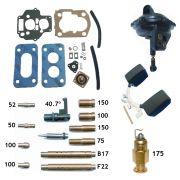 Reparo Carburador Weber 460 Gol Voyage Parati Saveiro 1.6 CHT 1991 em diante - Gasolina