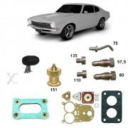 Reparo Completo Carburador Solex 34 Seie Maverick 4cc 1975 até 1979 Gasolina