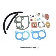 Reparo Juntas Carburador Solex 2E Santana Gol Monza Kadett Escort Pampa 1.8 2.0 Álcool e Gasolina