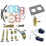 Reparo Juntas Kit Gicle Carburador Weber TLDZ Gol Voyage Parati 1.8 Gasolina