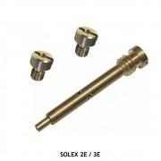 Tubo da Marcha Lenta e Gicle Principal Carburadore Solex 2E 3E VW Fiat Ford GM