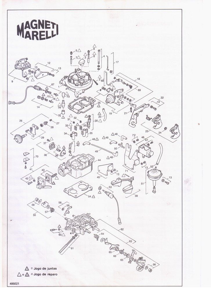 Bujão Gargulante Suplementar da Tampa Carburador Weber TLDZ TLDF