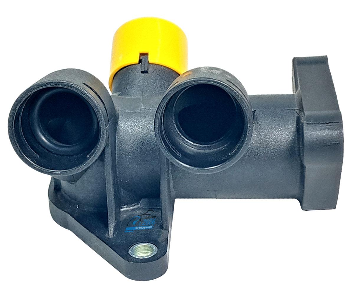 Flange Conector fluxo de água Passat Variant 1.8 1998 até 2002