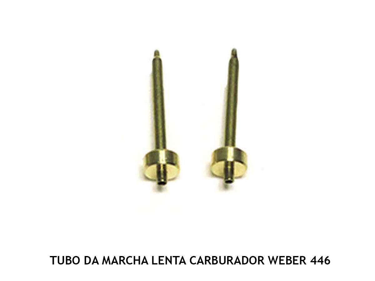 Kit Gicle Carburador Weber 446 DFV Opala 6c 84 até 90 Gasolina