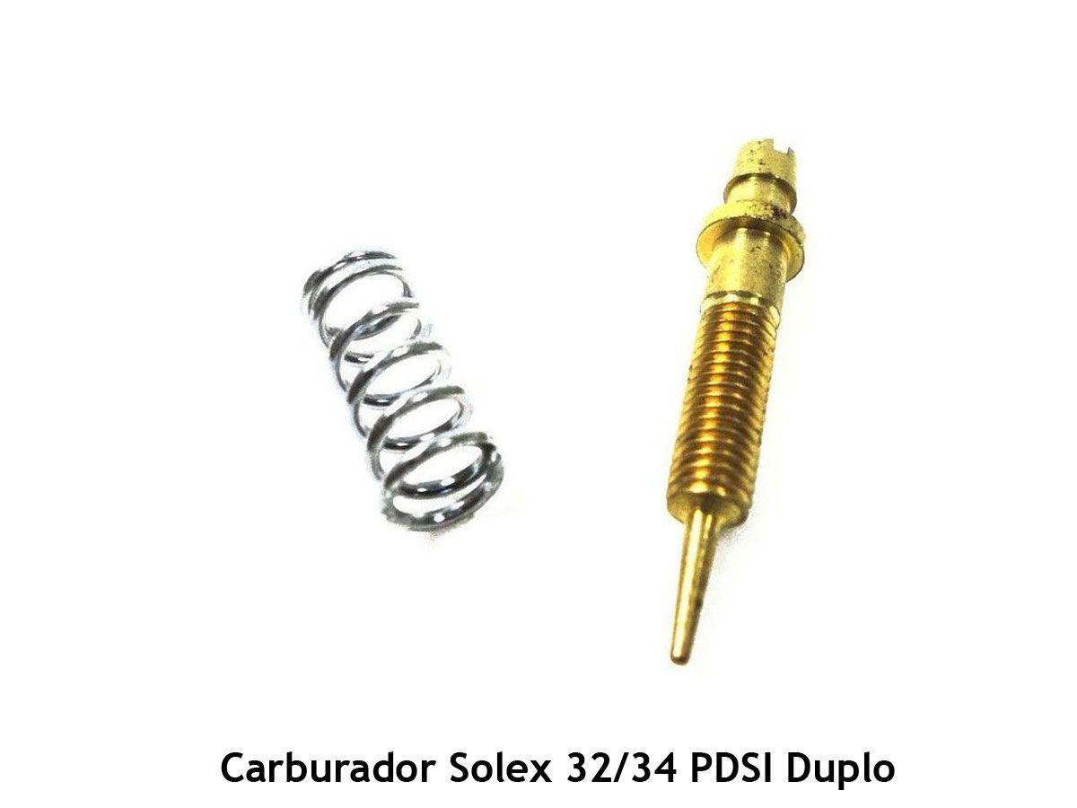 Parafuso Mistura Ar Carburador Solex 32 PDSIT Duplo Kombi Fusca Itamar
