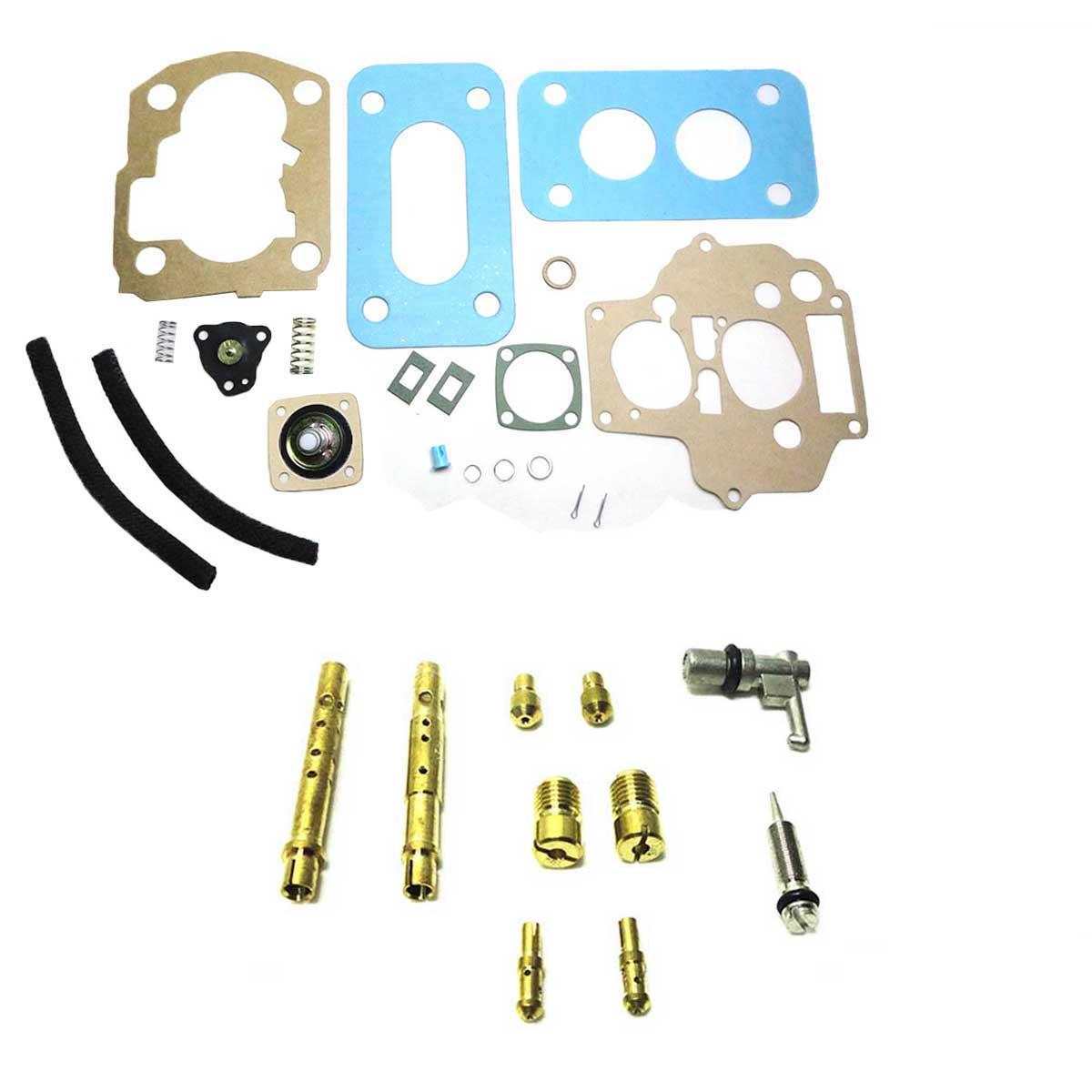 Reparo Carburador Weber 460 Escort Pampa Verona Corcel Belina Del Rey CHT 1.6 Álcool e Gasolina