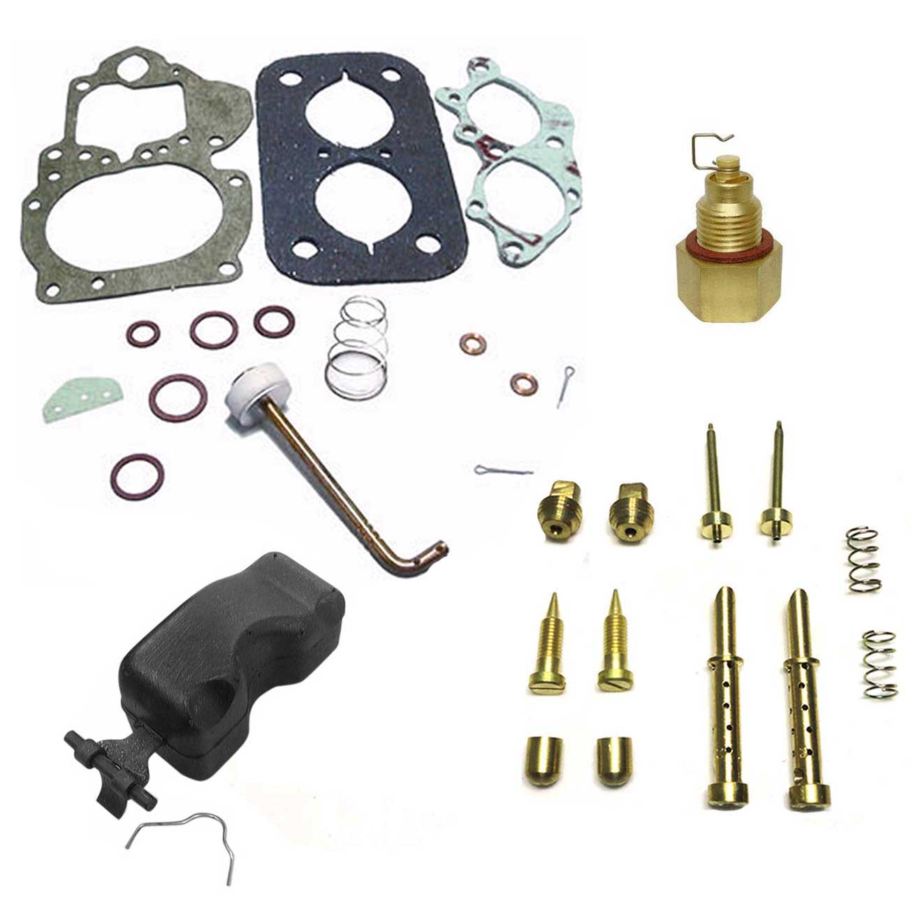 Reparo Carburador Weber DFV 446 Opala 4 e 6cc - Álcool e Gasolina