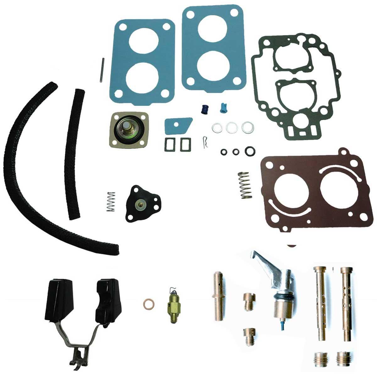 Reparo Carburador Weber TLDZ Gol Voyage Parati Escort 1.6 1.8 Álcool Gasolina