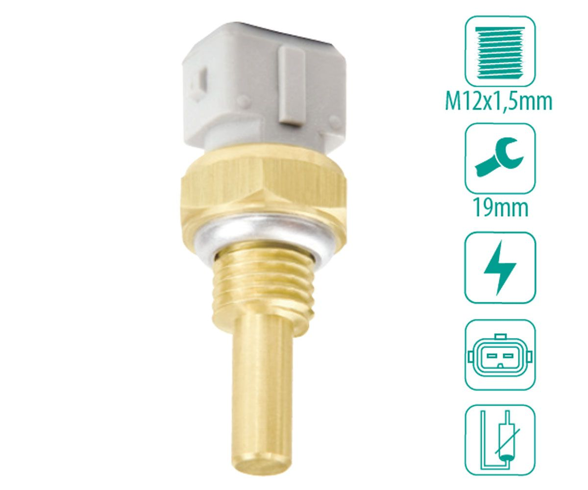 Sensor de Temperatura Água Astra Omega Suprema Vectra Zafira S10 Calibra