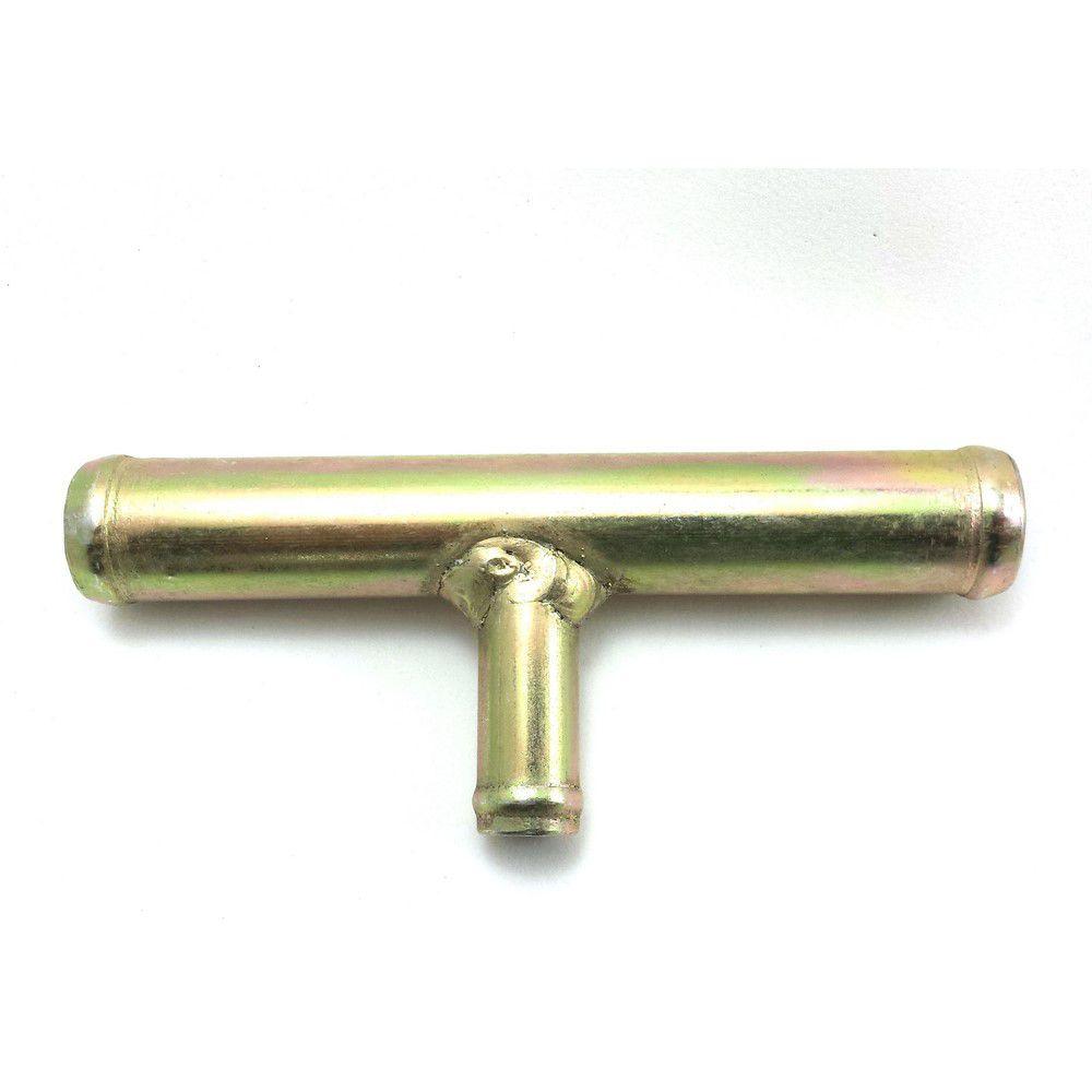 """Tubo Conexão T Adaptador de Saída de Água Universal - 20mm x 13mm ou 3/4"""" x 1/2"""""""