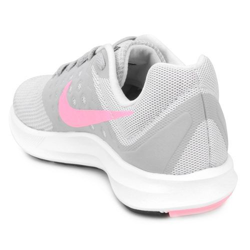 d056f75d94 Tenis Nike Downshifter 7 Cinza Rosa Feminino Brand Shoes