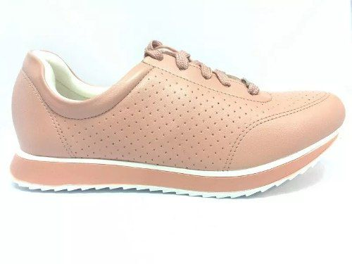 96edc7069 Tênis Via Uno Feminino Rose Vu18-166020 - BRAND SHOES